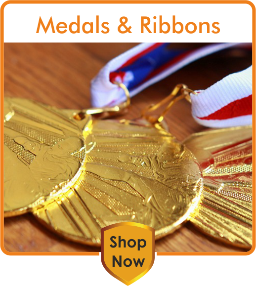 TrophyMaster Medals and Ribbons