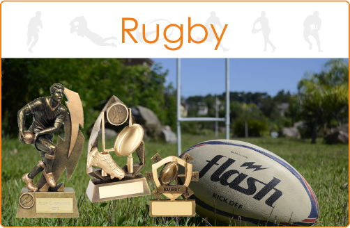 TrophyMaster Rugby Trophies