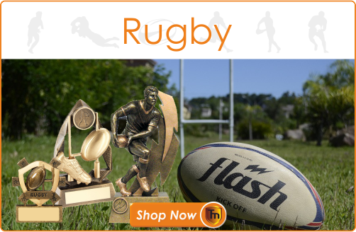TrophyMaster Rugby Trophies and Medals